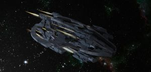 Hermes Class Destroyer by MrJumpManV4