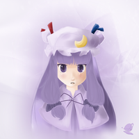 Patchouli Knowledge by xLtheartistx
