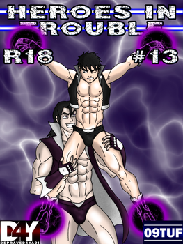 Heroes In Trouble 13 - Cover - PATREON by 09tuf