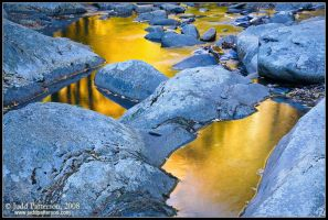 Golden Water by juddpatterson