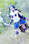 Ashe cosplay by asdcvbtuym