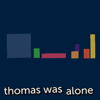 Thomas Was Alone SE Metro by griddark