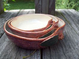 Apple Nesting Bowls 3 by KraftyThoughts