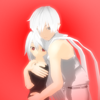 User Icon: Xelina and Zaren.XD by NightWitch14