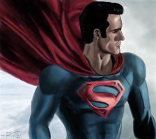 Man Of Steel by ArtOfTej