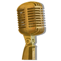 Steampunk Microphone Icon V2 by pendragon1966