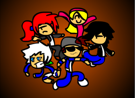 Team Cosmo- Band! by DabZen