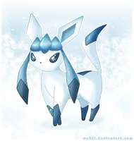 Shiny Glaceon by Wakki
