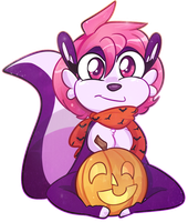 Destiny's Pumpkin by MimiMarieT