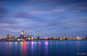 Perth Skyline Nov-11 by Furiousxr