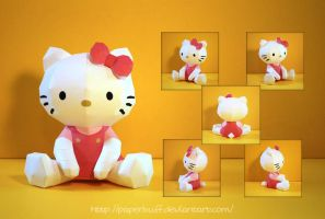 PMF's Hello Kitty Papercraft by PaperBuff