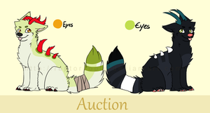 Species Auctions CLOSED by Raptordopts