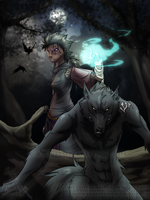 COLLAB: Anto and Senka by MoonstalkerWerewolf