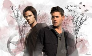 Winchester bros by amoore450