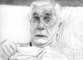 Leslie Nielsen wip by El-i-or