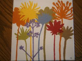 Flower Stems by Merwenna