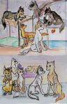 Wolves from the House by TiElGar