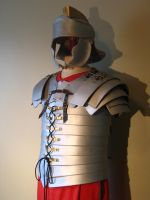 Roman Lorica Segmentata Leather Armor by Flacusetarhadel