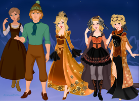 Into The Woods film characters part 3 by bigpinkbow197