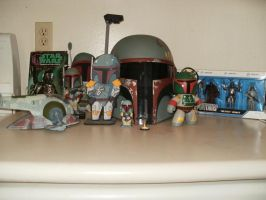 Boba Fett Collection 01 by zlayter