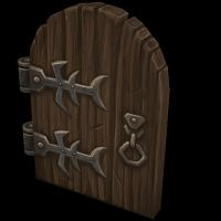 Fantasy Door by Jimpaw