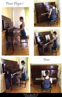 STOCK -  Piano Player 1 by LaLunatique