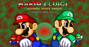 Mario and Luigi Ultimate Sprite Sheets Preview by TuffTony