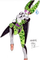 DBZ FEMALE CELL by Side-Shiffter