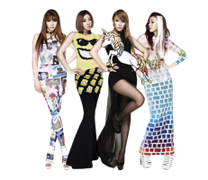 2NE1 PNG by tommz2011