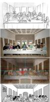 Last Supper - Making Of by YoulDesign