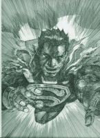 black lantern superman by orphanshadow