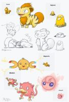 Pokemon Fusion Fun by Alias-Hugo