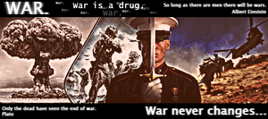 War. Drug that never changes. by DeFFik
