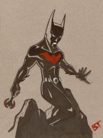 Batman Beyond by Vauz