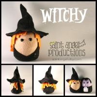 Witchy Plushie by Saint-Angel