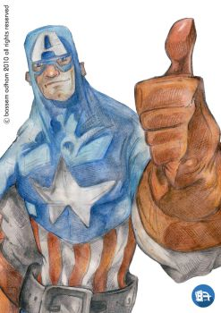 Captain America by bassemadham