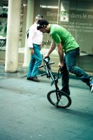Bicycle Race by Sprykritic