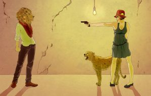 Her Lover the Lion by Tegan-Ray