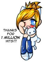 Thanks For 1 Million Hits by icyookami