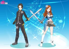 Sword Art Online - Lachlan and Me by sonadow-girl
