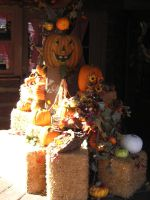 Halloween Store Front Decore by disneyland-stock