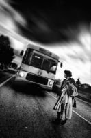 waiting for the last bus by hypertech