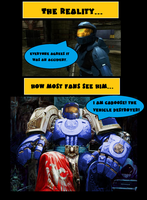 Caboose: How Most Fans See Him by ProfessorNature