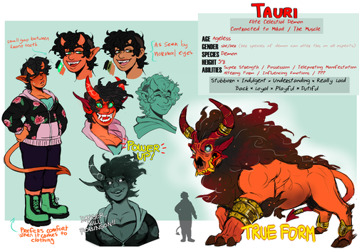 Character: Tauri by Jubilations