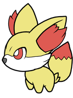 Fennekin Pokedoll Art by methuselah-alchemist