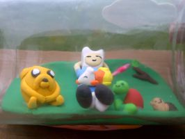 Adventure Time in a Jar :picture 2: FOR SALE by ChloeyLovesLlamas