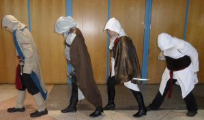Metrocon 2012: Assassin's Creed - Evolution by Cynuyasha