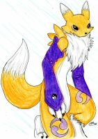 Renamon by Wolf-of-Moonlight