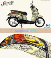 SCOOPY INDONESIANA by widjana