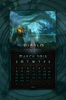 Calendar Mobile #5: March 2015 by Holyknight3000